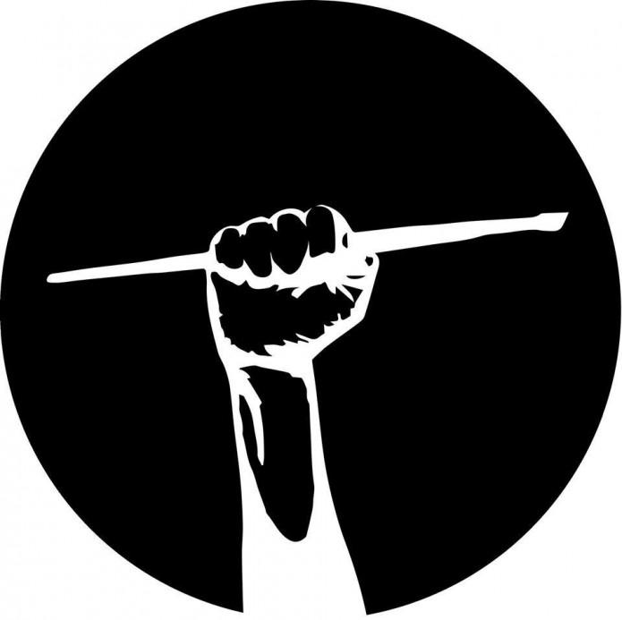 Art-student-logo-fist-with-paint-brush
