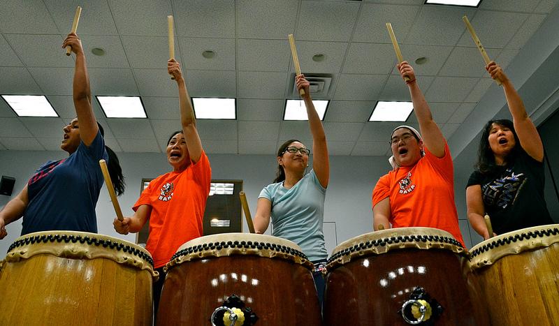 Genki Spark Taiko Drumming