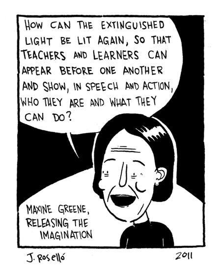 Maxine Greene Comic