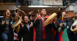 Idle No More and the Round Dance Flash Mob