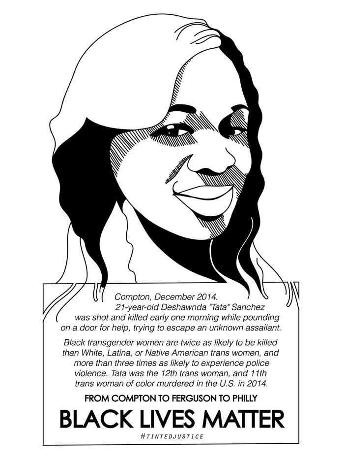 Deshawnda Sanchez  by #tintedjustice