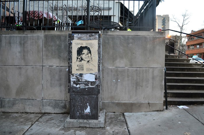 Aiyana Stanley-Jones Street Art by #tintedjustice