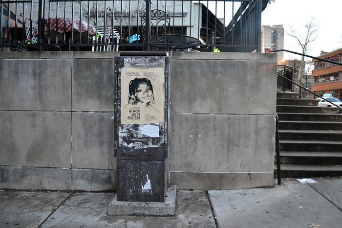 Aiyana Stanley-Jones Street Art by #tintedjustice