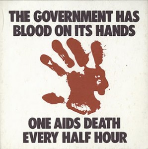 Poster by Gran Fury