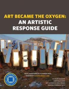 Art Became The Oxygen Cover Image